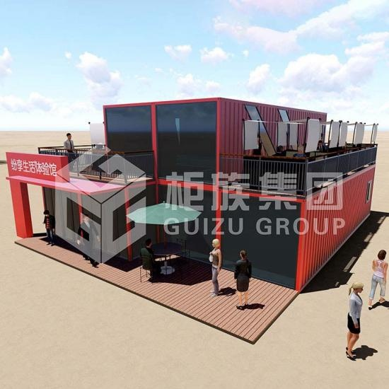 shipping container shopping mall